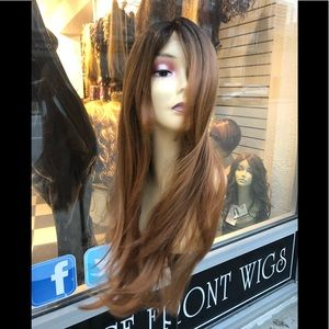 Accessories - Wig long brown chicago wig sale 2019 Layers Long